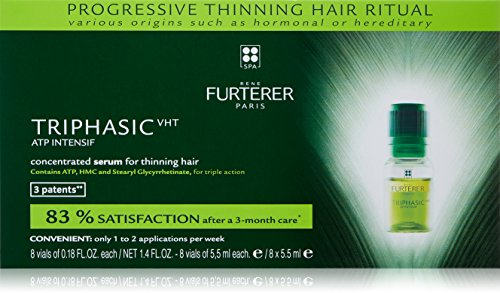 Triphasic Progressive Thinning Hair Treatment by Rene Furterer