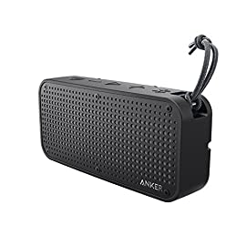 Anker SoundCore Sport XL Outdoor Portable Bluetooth Speaker - 16W Output and 2 Subwoofers, IP67 Waterproof Weatherproof Shockproof, 66ft Bluetooth Range, 15H Playtime, Built-in Mic, USB Charging Port 5 Dynamic Stereo: Enjoy crisp, energetic sound with impressive volume, powered by 2 x 8W stereo drivers with remarkable frequency response. Sublime bass is delivered by dual passive subwoofers. Tough Tech: Tough Bluetooth speakers. IP67 waterproof (1m depth) and dust-tight. Shock resistant. Bluetooth 4.1: Advanced Bluetooth tech offers an extended 66ft range (outside) so you can take your phone further without losing connection and make hands-free calls with the built-in noise-canceling mic.