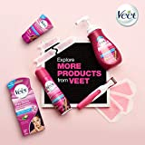 Veet Legs & Body 3 in 1 Gel Cream Hair Remover 6.78 oz. Sensitive Skin Formula, Infused with Aloe Vera and Vitamin E. Reduces Ingrown Hair and Moisturizes Skin. Removes All Hair Types