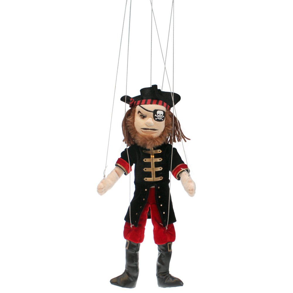 The Puppet Company - Marionette Characters - Pirate Marionette The Puppet Company Ltd PC009204
