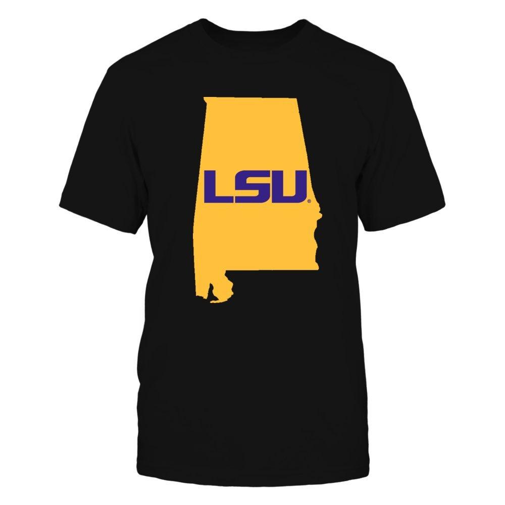 Tanks and Hoodies! FanPrint LSU Tigers T-Shirt Alabama for LSU T-Shirts