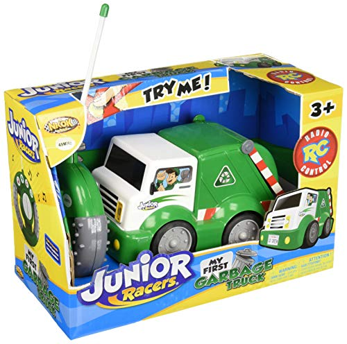 NKOK Junior Racers RC My First Garbage Truck (Remote Control Recycle Truck)