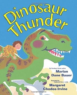 book cover of Dinosaur Thunder