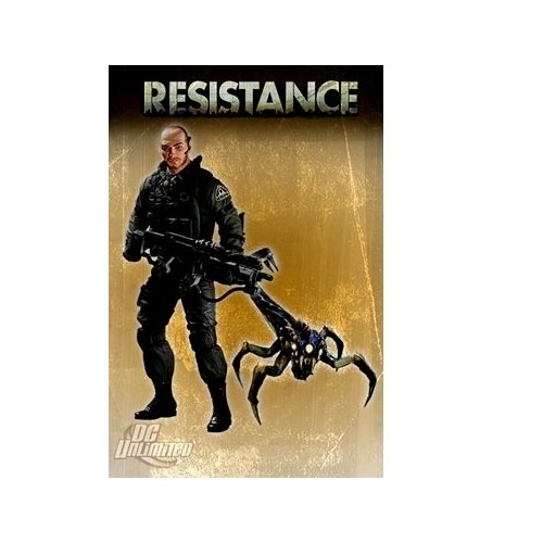 Resistance Series 1: Nathan Hale with Swarmer Action Figure