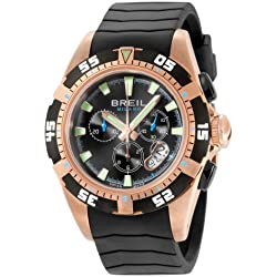 Breil Milano Men's BW0410 Manta Analog Black Dial Watch