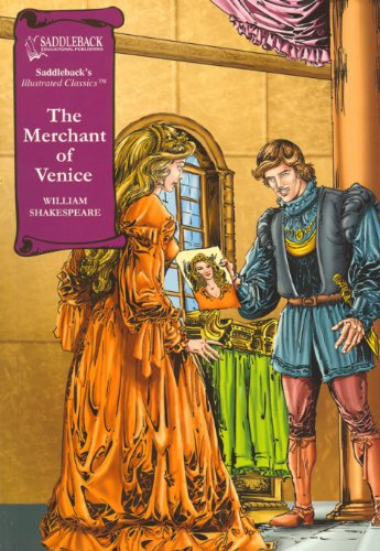 The Merchant of Venice- Graphic Shakespeare-Read Along (Saddleback's Illustrated Classics)