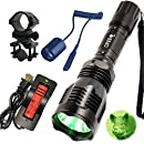 WindFire Green LED Coyote Hog Hunting Light Set