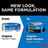 ScotchBlue Original Multi-Surface Painter's Tape, 2090, 0.94 inch x 60 yard, 9 Rolls