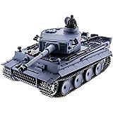1/16 German Tiger Air Soft Rc Battle Tank Smoke & Sound (Upgrade Version w/ Metal Gear & Tracks)