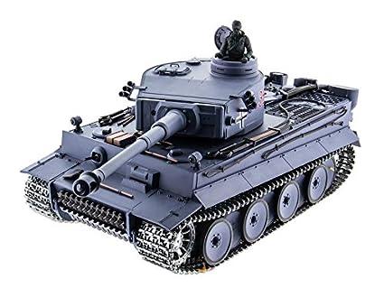 German Tiger 1 Remote Control RC Military Army World War Tank Smoke