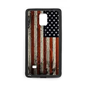 American Flag New Fashion DIY Phone Case for Samsung Galaxy Note 4,customized cover case ygtg-774165
