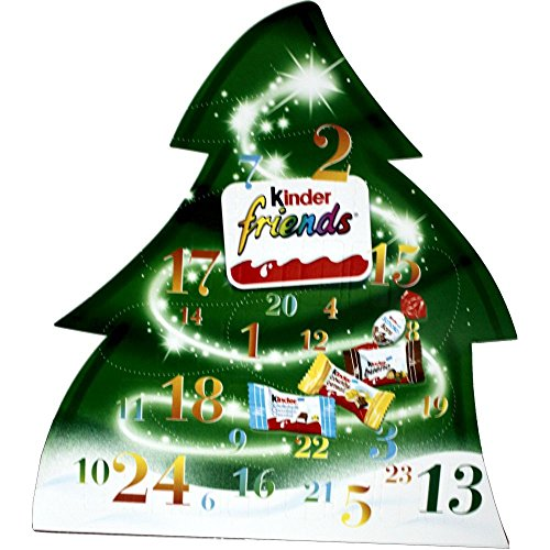 Kinder Friends Advent Calendar, 135g