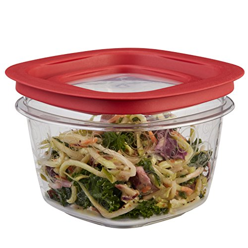 RUBBERMAID FG7H75TRCHILI Storage Container, 2 Cup