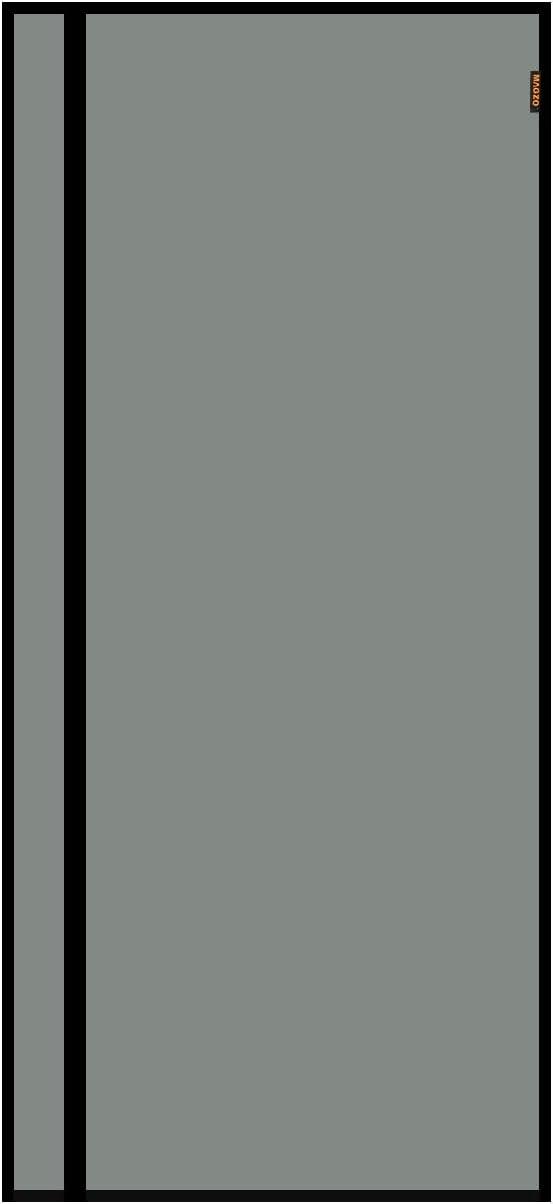 Durable Fiberglass Magnets Screen Door Fit Door Size 30 x 80 RV Deck Single Front Back Screen Mesh Net Curtain Wire MAGZO Reversible Left Right Side Opening Magnetic Screen Door 30 x 80 Black