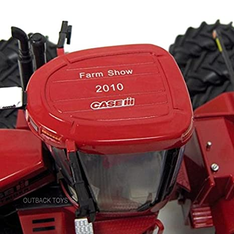 Amazon.com: ERTL 1/32nd Case IH Steiger 535 4WD with Triples 2010 Farm Show Edition: Toys & Games