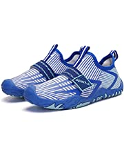 Kids Barefoot Water Shoes Minimalist Non-Slip Breathable Trail Running Beach Swimming Shoes