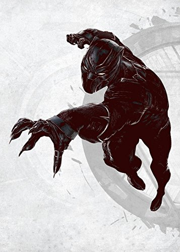 Marvel Comics Metal Poster Black Panther cm Posters Wallscrolls