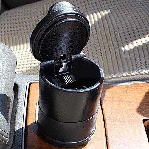 Depory Cenicero de cigarrillos para coche Cenicero para coche Cenicero Auto