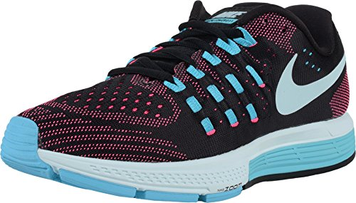 Nike Womens Air Zoom Vomero 11 Black/Glcr Bl/Pnk Blst/Gmm Bl Running Shoe 8 ...