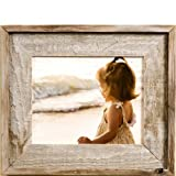 MyBarnWoodFrames - Lighthouse Series Reclaimed Barn Wood 8x10'' Picture Frame (2 Inch Wide Frame)