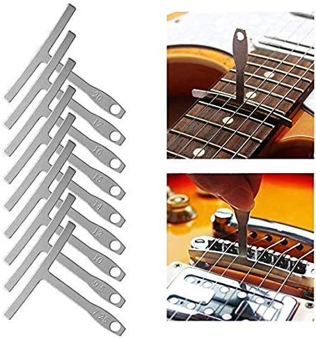 Gitarrenbauer Werkzeuge   Radiusmessgeräte Für Die Reparatur Von E