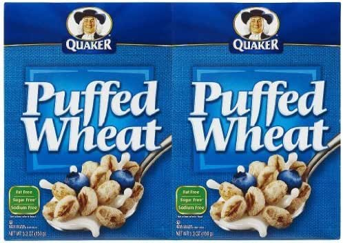 Breakfast Cereal: Puffed Wheat