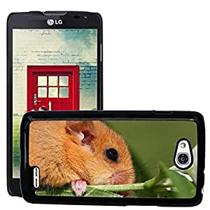 Hot Style Cell Phone PC Hard Case Cover // M00129312 The Dormouse Animal Branch Cute // LG Optimus L90 D415