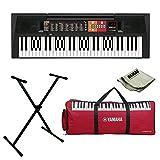 Yamaha PSR-F51 Portable KeyboardWith Keyboard Gig bag, Adaptor and Polishing Cloth … (YAMAHAPSRF51 Bundle)