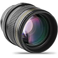 Opteka 85mm f/1.8 Aspherical Telephoto Portrait Lens for Nikon D5, D4s, D4, D3x, Df, D810, D800, D750, D610, D500, D7500, D7200, D7100, D5600, D5500, D5300, D5200, D3400, & D3300 Digital SLR Cameras