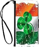 Rikki Knight Shamrock on Irish Flag Grun