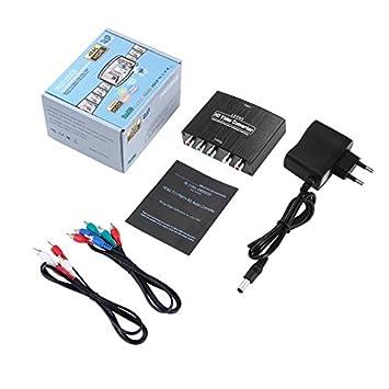 LESHP HDMI Verstärker Konverter Video R L-Audio Adapter HD-TV Adapter