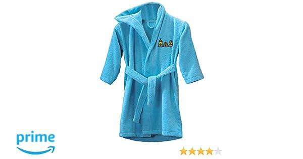 CTI 043018 los Minions Sponge Albornoz 2/4 años, Color Azul: Amazon.es: Hogar