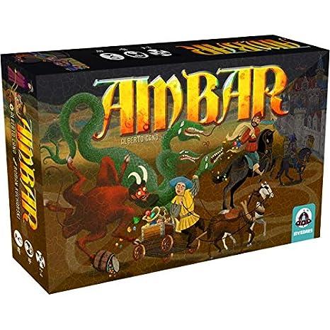 Ambar Bord Juego de cartas (PS4/): Amazon.es: Videojuegos