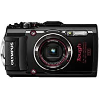 Olympus Stylus TOUGH TG-4 Waterproof 16MP CMOS Digital Camera with WiFi, GPS, eCompass and 1080P Video - Black(Certified Refurbished)