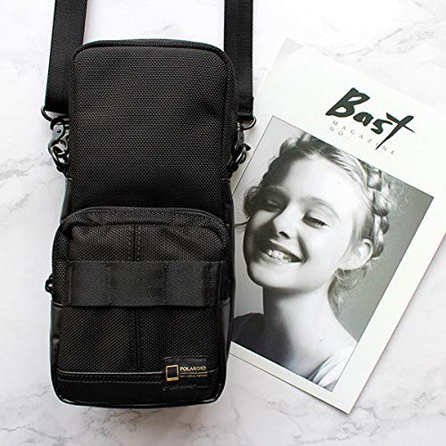 FidgetGear Polaroid 690 Camera Bag for SX-70/SLR680/690/Sonar Black Nylon (Sx 70 Sonar)