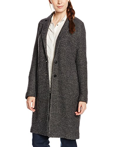 Marc O'Polo 607605337067, Chaqueta de Punto Para Mujer Gris (Dark sea grey 973)
