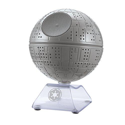 iHome 092298917030 Star Wars Death Li-B18 Portable Bluetooth Speaker Gray