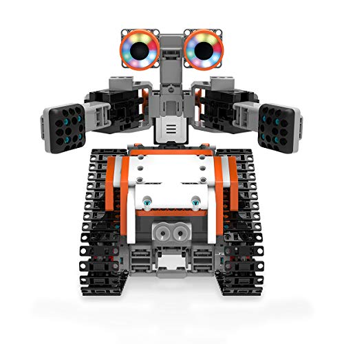 UBTECH JIMU Robot Astrobot Series: Cosmos Kit / App-Enabled Building and Coding STEM Learning Kit (387 Parts and Connectors)]()
