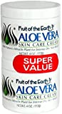 Fruit of the Earth Aloe Vera Cream 4 oz. + 4 oz. Jars