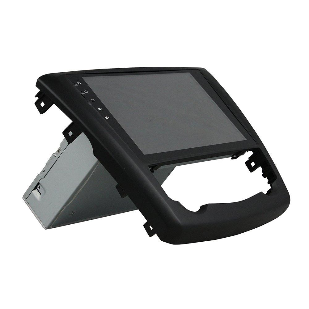 Kunfine Android 8.0 Octa Core Coche DVD GPS navegación Multimedia Reproductor estéreo Coche para Renault Kadjar 2016 Autoradio Volante Control con 3G WiFi ...