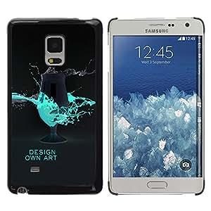"""For Samsung Galaxy Mega 5.8 , S-type Diseñar Arte Propia"""" - Arte & diseño plástico duro Fundas Cover Cubre Hard Case Cover"""