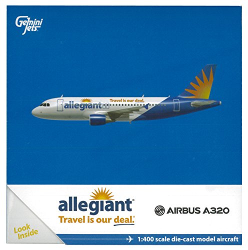 Gemini Jets Allegiant A320 (1:400 Scale)
