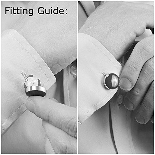 Alternativa Ideali Oro Camicia Casual – Abiti Per Gemelli Button Camicie Eleganti Smoking Cuff Copribottoni Ai E FpFXf