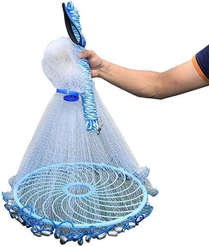 Grljd Fishing Equipment/Fishing Net Automatic Fishing Net for Bait of Various Sizes (Edition : Height 2.4m plumb bob…