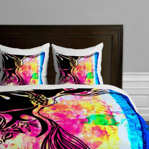 Deny Designs  Sophia Buddenhagen Dream Hawaii Duvet Cover, King by Deny Designs