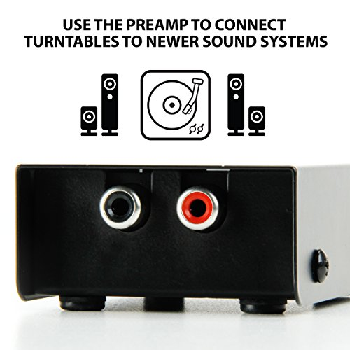 How do you hook up a turntable to a receiver