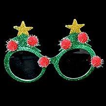 Sofias Closet Christmas Novelty Sunglasses Xmas Tree Snowman Santa Hat Fancy Dress Party Fun