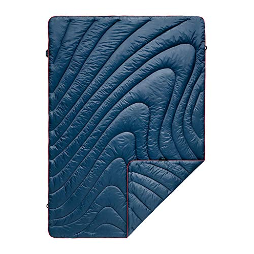 - Rumpl The Original Puffy Blanket, Deepwater Blue, Throw