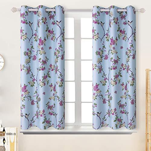 vintage pattern curtains - 4