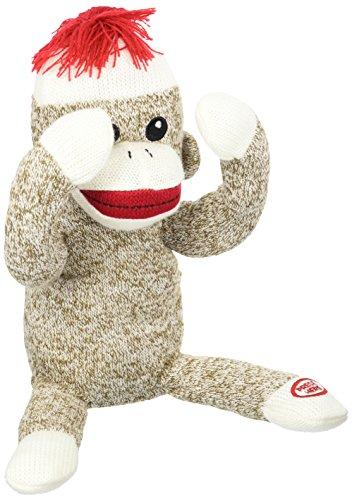 Rashti & Rashti Baby Starters Peekaboo Sock Monkey Toy, B...